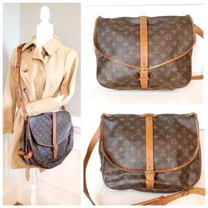 Louis Vuitton Saumur 35 Crossbody Bag